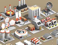 Quasi-Futuristic Industrial Assets