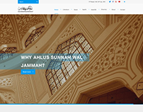 UI/ UX: Islamic Website for an organization -