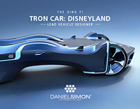 Tron Car for Shanghai Disneyland by Daniel Simon