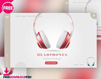 Headphones Website Ui Design