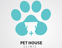 Branding of Pet House Clininc