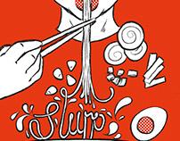 Graduate project: Slurp! A Ramen Zine