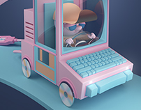 3D Conceptual Illustration