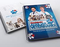 Arte Capas Apostila | Auxiliar Veterinário Profissão