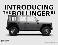 Bollinger Motors Rebrand Design