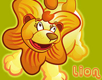 Cute Lion Character for Baby Leapfrog