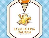 La Gelateria Italiana - Cardápio 2016