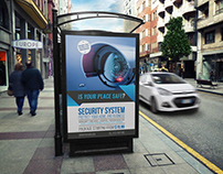 Security System Poster Template Vol.2