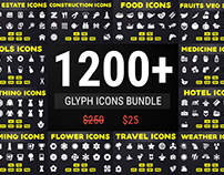 Solid Icons - Glyph Icon Mega Bundle