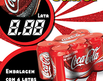 Galha 6-Pack Coca-Cola