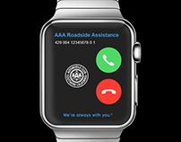 AAA Apple Watch - RoadSide Assistance (UI)