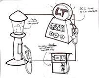 Toy Design Sketches