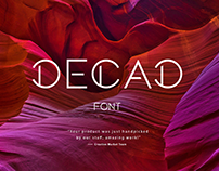 DECAD / Font