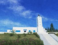 A church in Tunisia