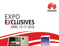 Huawei Expo social media