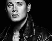 Dean Winchester Digital Painting
