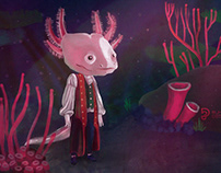 Character Design Challenge: Axalotl Adventurer