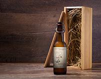Alewerks & DoG Street Pub - Maizie's ESB Beer Label