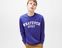 BERSHKA MAN - Sweatshirt Whatever
