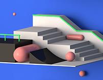 3D Skate Plaza