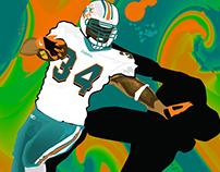 Ricky Williams Miami Dolphins