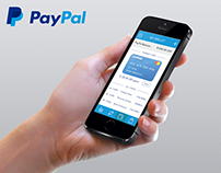 PayPal app redesign