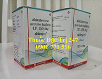 Thuốc abirapro 250mg abiraterone - thuốc đặc trị 247