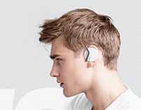 Wireless headphones concept