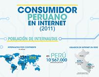 Infografía - Consumidor Peruano en Internet 2011