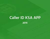 Caller ID KSA APP - 2014