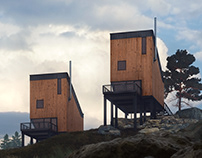 Cabin Cluster Ersfjord village,Norway / part 2