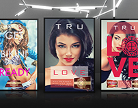 2015 Valentines Day Posters | Client Tru Tan