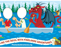 Pinelands Adventure Promotional Board