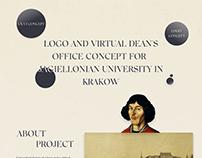 UX/UI ONLINE EDUCATION PLATFORM + LOGO SCHOOL CONCEPT