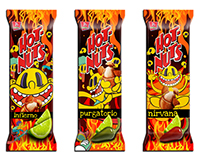 Hot Nuts Grafitti