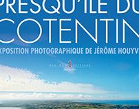 Vol au-dessus de la presqu'île du Cotentin / juin 2017