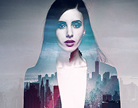 Double Exposure Posters