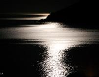 Sea at night. Take 1