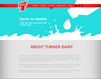 Local Dairy Farm - website