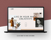 Website Template Squarespace 7.1