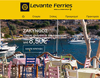 Ferries Homepage Redesign