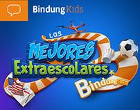 Diseño de la valla y folletos para ¨Bindung Kids¨