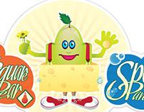 Square Pear Sponge Pants