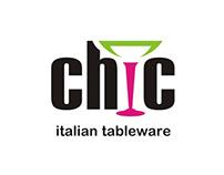 Chic italian tableware logo