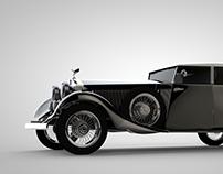 Vintage Rolls Royce - color schemes