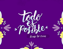 Todo es posible- Wallpaper
