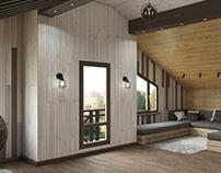 Attic room | Мансарда