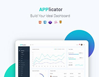 Applicator - Bootstrap 4 Admin Template