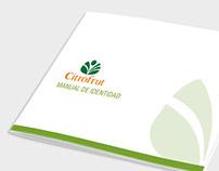 Citrofrut - Manual de Identidad