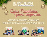 Blancaluna » campaña preventa cajas navideñas